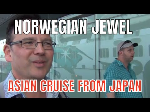 NORWEGIAN JEWEL ASIA CRUISE- DAY 1 (YOKOHAMA, JAPAN)