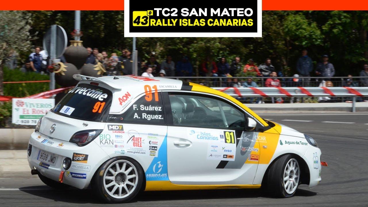 TC2 San Mateo - DISA 1 | 43º Rally Islas Canarias