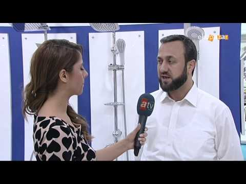 General Manager of KAS Factory gave a speech about the faucet market at UNİCERA İnternational Fair.
