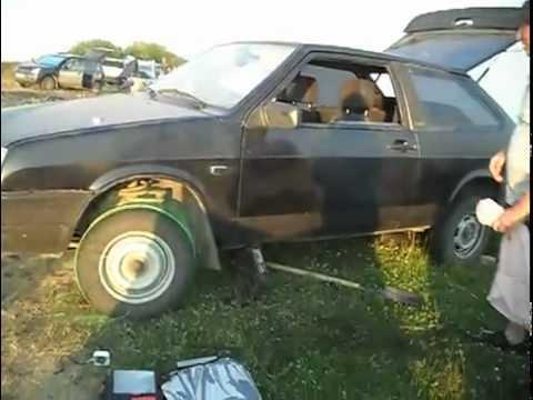 הנעת רכב באמצעות חבל