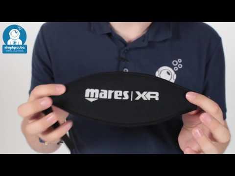 Mares XR Neoprene Mask Strap - www.simplyscuba.com