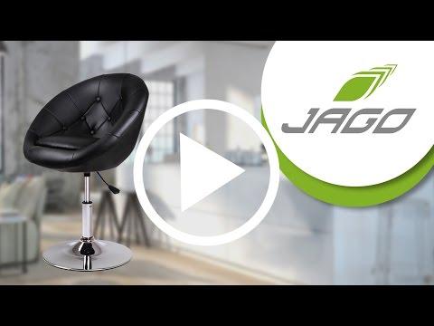 MIADOMODO Chesterfield Lounge Sessel dreh- und höhenverstellbar mit Farbwahl CSEL01