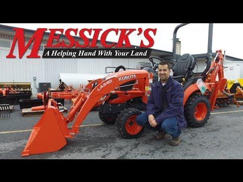 BX23S | Messick's Tractor School