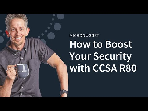 Check Point CCSA R80 - YouTube