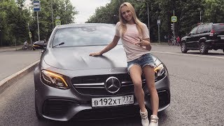 САМЫЙ БЫСТРЫЙ Mercedes E63S AMG. СПИННЕР В КАДРЕ. ВАМ СЛАБО?!