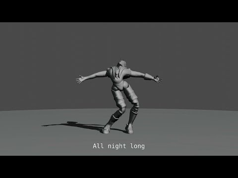 【Vocaloid / BIG AL / original】All Night Long【animation in blender】