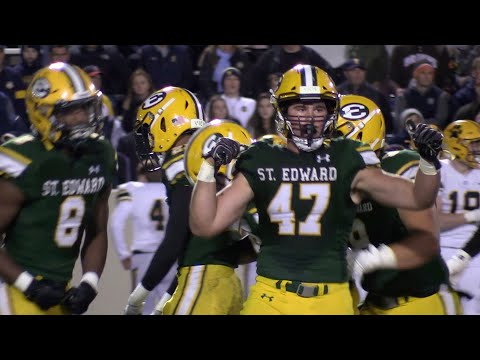Pressure makes St. Edward's best defensive performance 'by far'