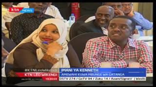 Muwaniaji wa ugavana Nairobi Peter Kenneth akutana na viongozi wa dini ya Kiislamu