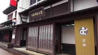 岩瀬の街並み7富山県富山市