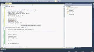 I tried to show how we can draw a text on screen in an OpenGL application. This is my first English spoken video, so please don't mind my mistakes in my spea...