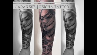 JAPANESE | GEISHA TATTOO