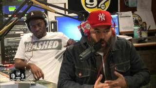 Hot 97 - A Tribe Called Quest takes over Ebro in the Morning!