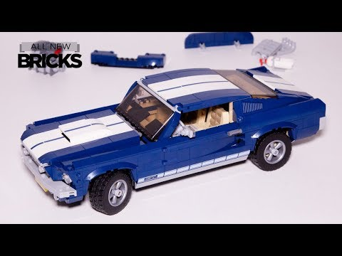 Vidéo LEGO Creator 10265 : Ford Mustang