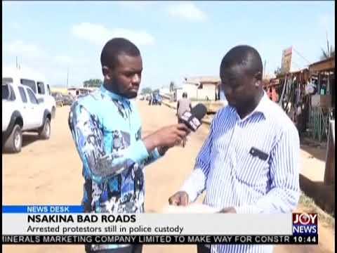 Nsakina Bad Roads - News Desk on JoyNews (16-10-18)