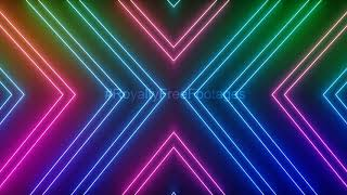 neon light background video effect | Neon lights animation template | Neon overlay effect