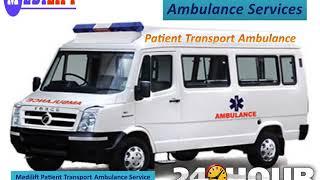 Medilift Road Ambulance in Varanasi and Ranchi at Low Price