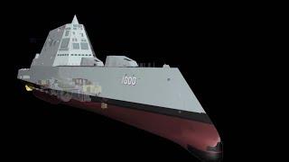 How do you make a stealth ship?