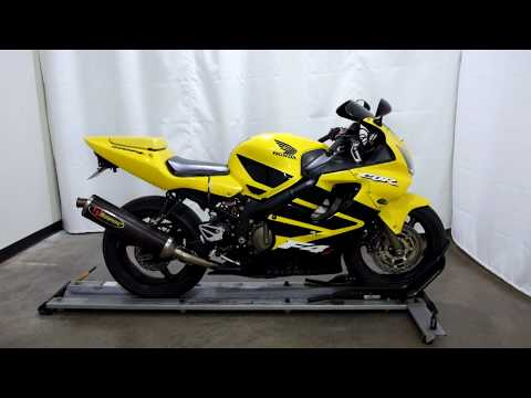 2002 Honda CBR600F4i in Eden Prairie, Minnesota - Video 1