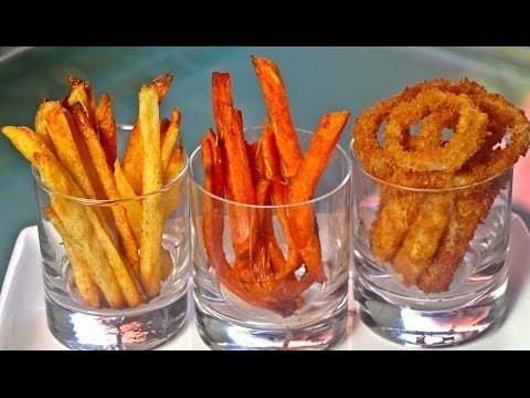 French Fries/Sweet Potato Fries & Onion Rings!