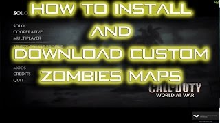 how to install custom zombies - Free video search site - Findclip