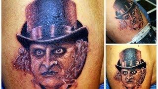 Danny DeVito Penguin Tattoo From Batman Returns (wylde Sydes Tattoo)