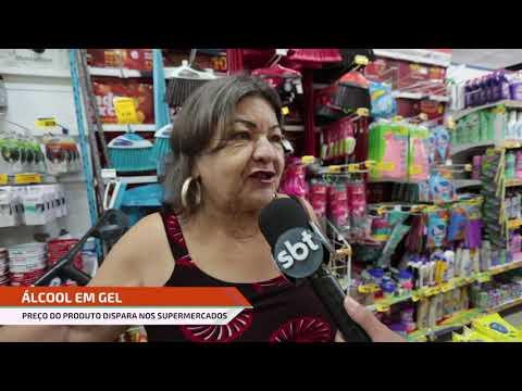 Álcool em gel pode ser encontrado mais de 300% mais caro no Recife