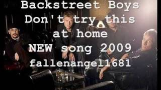 Backstreet Boys Don't Try This At Home (lyrics)