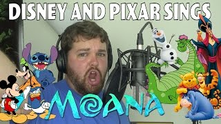 Disney and Pixar Sings Moana Medley