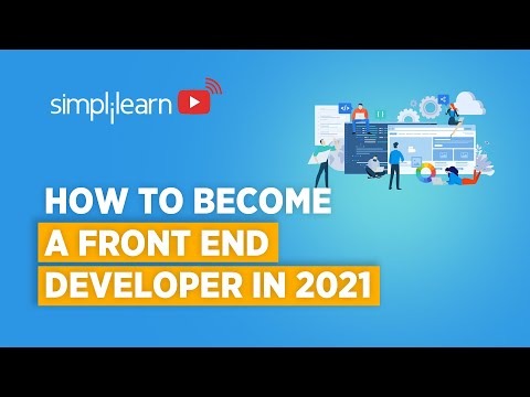 How To Become A Front End Developer In 2021 | Front ... - YouTube