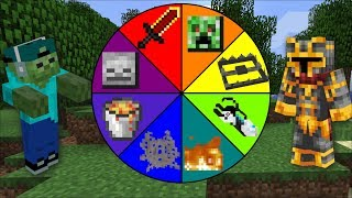 Minecraft DANGEROUS WHEEL OF FORTUNE / SPIN THE WHEEL TO SURVIVE !! Minecraft