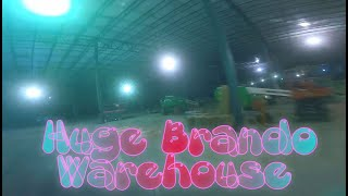 Huge Brando Warehouse / FPV - Freestyle