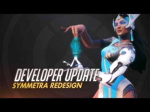 Developer Update for Overwatch : Symmetra changes incoming