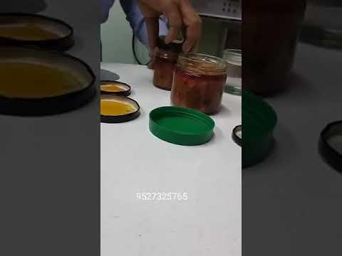 Pickles Packing Aluminium Foil