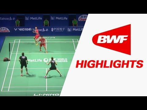 Tahoe China Open 2017 | Badminton SF – Highlights