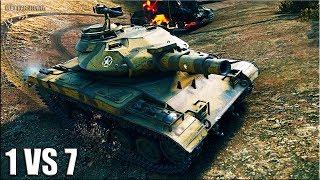 Т49 ЗАТАЩИЛ на ФУГАСЕ 🌟 медаль Фадина, Колобанов 🌟 World of Tanks лучший бой на T49 лт 9 уровня