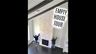 We Bought A House  | EMPTY HOUSE TOUR! |  GLAMTWINZ