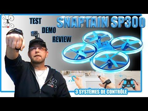 Snaptain SP300 - Review Test Démo - Contrôler avec la MAIN ou ... Sans les Mains !