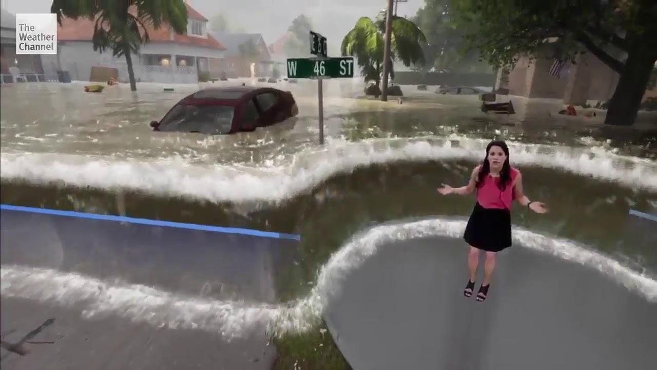 Мощнейший ураган Florence надвигается на США