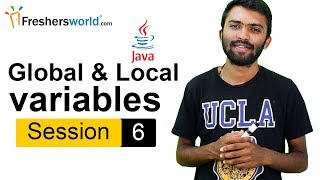 Learn JAVA – Session 6, Local and global variables, Guide for Java Developers