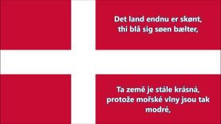 Dánská hymna (DK/CZ text) - Anthem of Denmark