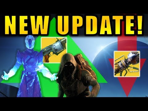 Destiny 2: NEW UPDATE! Xur Changes! Raid Loot Buffs! Wardcliff Nerf! - Patch 2.2.1