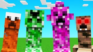 ELEMENTAL CREEPERS Mod In MINECRAFT