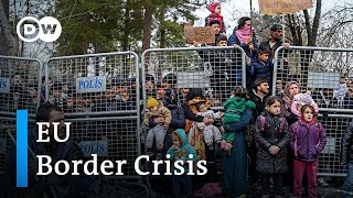 EU border crisis: Turkey blocks refugees from re-entering the country