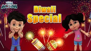 Diwali Special | BEST SCENES Of VIR THE ROBOT BOY | Animated Series For Kids | WowKidz Action