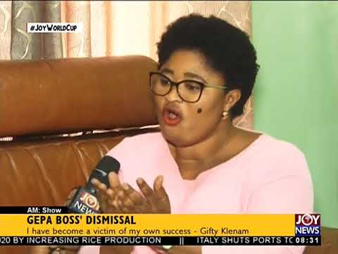 GEPA Boss' Dismissal - AM Show on JoyNews (11-6-18)