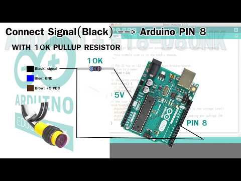 E18D80NK Infrared Proximity Sensor
