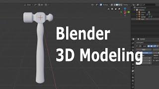Blender 2.8 Beginner 3D Modeling Tutorial