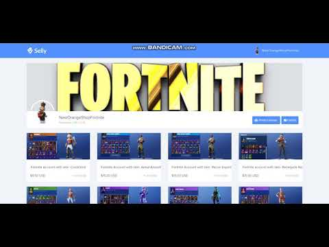 Fortnite Accounts The Verified Store Cheap And Legit Selly