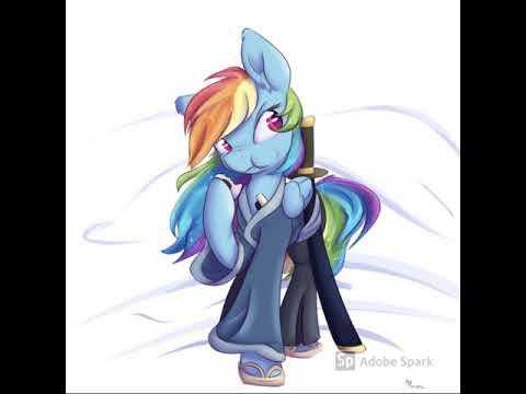 ronin rainbow dash Pmv