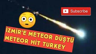 В ночном небе в Турции сняли яркую вспышку - предполагают падение метеорита (видео)